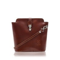 Genuine Italian Leather Cross-Body Handbag