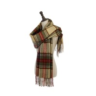 Soft Checked Winter Scarf